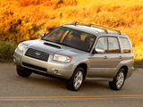 Images of Subaru Forester 2.5XT US-spec (SG) 2005–08