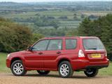 Images of Subaru Forester 2.0X UK-spec (SG) 2005–08