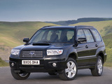 Images of Subaru Forester 2.5XT UK-spec (SG) 2005–08