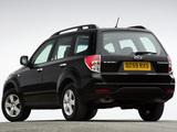 Images of Subaru Forester UK-spec (SH) 2008–11