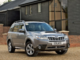 Images of Subaru Forester 2.0D UK-spec (SH) 2011
