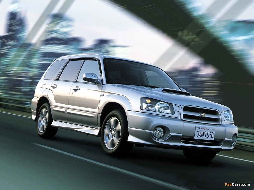 Images of Subaru Forester (1024 x 768)