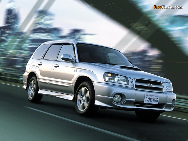 Images of Subaru Forester (640 x 480)