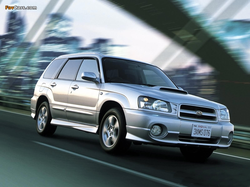 Images of Subaru Forester (800 x 600)