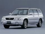 Photos of Subaru Forester Turbo JP-spec 1997–2000