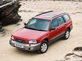 Photos of Subaru Forester UK-spec (SG) 2003–05