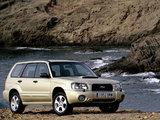 Photos of Subaru Forester XT 2003–05