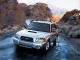 Photos of Subaru Forester XT US-spec (SG) 2003–05