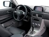 Photos of Subaru Forester 2.5XT (SG) 2005–08