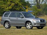 Photos of Subaru Forester Sports US-spec (SG) 2005–08