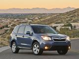 Photos of Subaru Forester 2.5i US-spec 2012