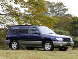 Pictures of Subaru Forester JP-spec 1997–2000