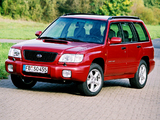 Pictures of Subaru Forester S-Turbo (SF) 2000–02