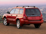 Pictures of Subaru Forester US-spec (SG) 2003–05