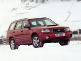 Pictures of Subaru Forester XT UK-spec (SG) 2003–05