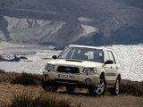 Pictures of Subaru Forester XT 2003–05