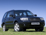 Pictures of Subaru Forester 2.5XT UK-spec (SG) 2005–08