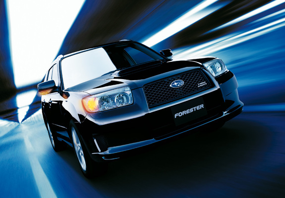 Pictures Of Subaru Forester Cross Sports Sg 2005