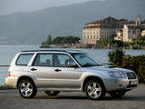 Pictures of Subaru Forester 2.5XT (SG) 2005–08
