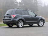 Pictures of Subaru Forester US-spec (SH) 2010–12