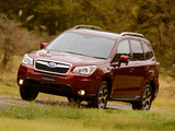 Pictures of Subaru Forester 2.0i-S JP-spec 2012