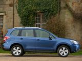 Pictures of Subaru Forester 2.0D XC UK-spec 2013