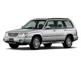 Subaru Forester JP-spec 1997–2000 images