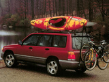 Subaru Forester US-spec 1997–2000 wallpapers