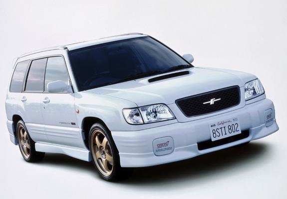 Subaru Forester Sti Ii 200002 Images