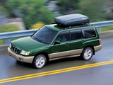 Subaru Forester 2.0GX US-spec (SF) 2000–02 wallpapers