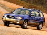 Subaru Forester US-spec (SG) 2003–05 images