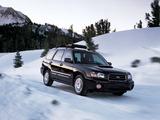 Subaru Forester XT US-spec (SG) 2003–05 images