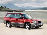 Subaru Forester UK-spec (SG) 2003–05 images