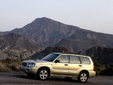 Subaru Forester XT 2003–05 photos
