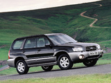 Subaru Forester UK-spec (SG) 2003–05 pictures