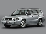 Subaru Forester XT 2003–05 pictures