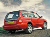 Subaru Forester XT UK-spec (SG) 2003–05 pictures