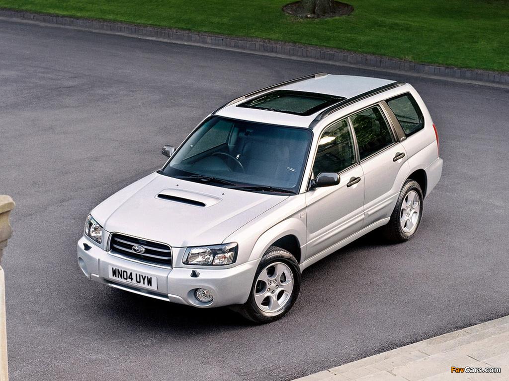 Subaru Forester XT UK-spec (SG) 2003–05 pictures (1024 x 768)