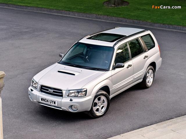 Subaru Forester XT UK-spec (SG) 2003–05 pictures (640 x 480)