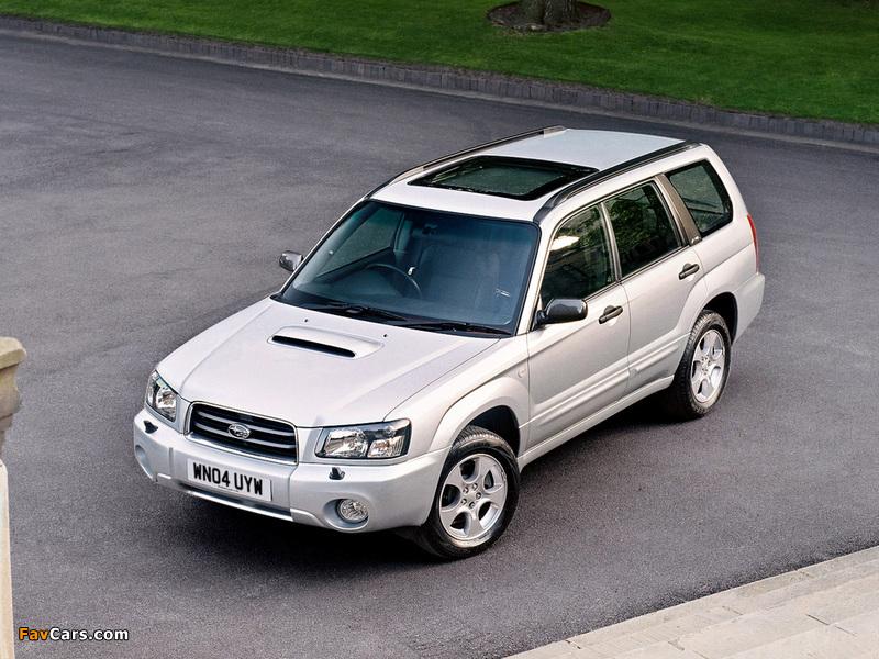 Subaru Forester XT UK-spec (SG) 2003–05 pictures (800 x 600)