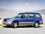 Subaru Forester UK-spec (SG) 2003–05 wallpapers