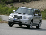Subaru Forester 2.5XT (SG) 2005–08 images