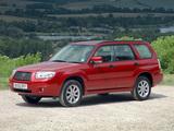 Subaru Forester 2.0X UK-spec (SG) 2005–08 images