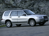 Subaru Forester 2.0X 2005–08 images