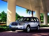 Subaru Forester 2.5XT (SG) 2005–08 photos