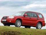 Subaru Forester 2.0X UK-spec (SG) 2005–08 photos