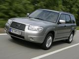 Subaru Forester 2.0X 2005–08 photos