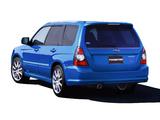 Subaru Forester STi 2005–08 photos