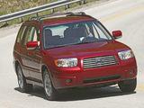 Subaru Forester 2.0X US-spec (SG) 2005–08 photos