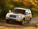 Subaru Forester 2.5XT US-spec (SG) 2005–08 photos